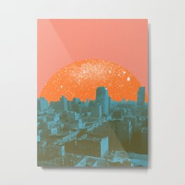 Metropolis Landing III Metal Print