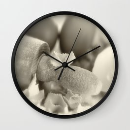 Pasta in our own production Wall Clock