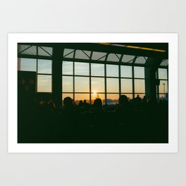 MORNING FLIGHTS Art Print