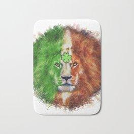 St. Patrick's Day Irish Lion Bath Mat