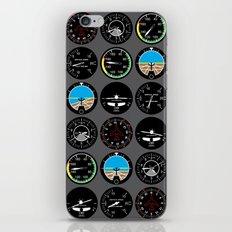 Flight Instruments iPhone & iPod Skin