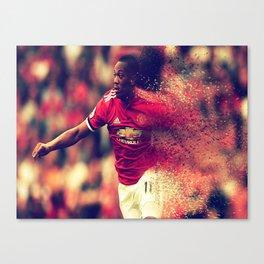 football star Canvas Print