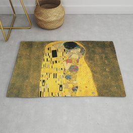 THE KISS - GUSTAV KLIMT Rug