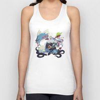 ursula Tank Tops featuring Team Ursula by Citron Vert
