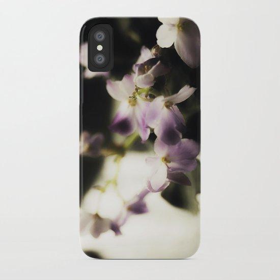 Violet Vortex iPhone Case