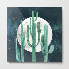 Desert Nights 2 Metal Print