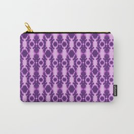 rotary tie-dye pattern in purple Carry-All Pouch