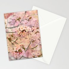 Spring Pink Blossoms Stationery Cards