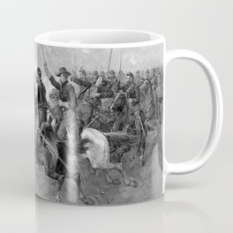 Union Cavalry Charge Coffee Mug