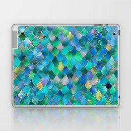 Summer Ocean Metal Mermaid Scales Laptop & iPad Skin