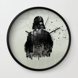 "Inspired Poster by ""StarWars III"" Wall Clock"