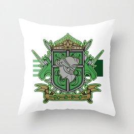 Wall Sina Throw Pillow