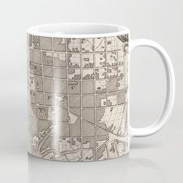 Vintage Map of Quito Ecuador (1764) Coffee Mug