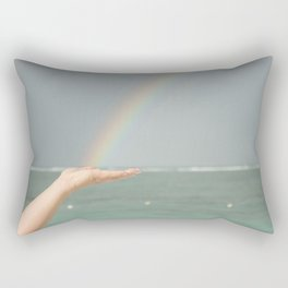 Rainbow Hand Rectangular Pillow