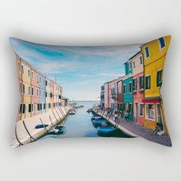 Color House Rectangular Pillow