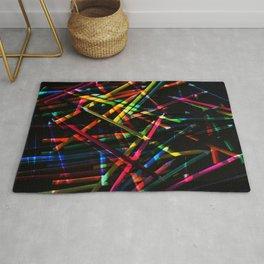 Line Colours (pencils) #3 Rug