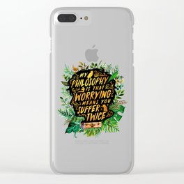 Newt Scamander Clear iPhone Case