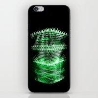matrix iPhone & iPod Skins featuring Matrix tower by Azimut
