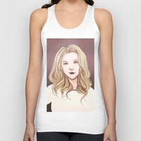 moriarty Tank Tops featuring elementary: jamie moriarty [2] by roanne Q
