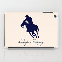 cowboy iPad Cases featuring Cowboy Outlaw by Msimioni