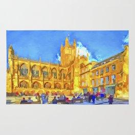 Bath Abbey Pop Art Rug