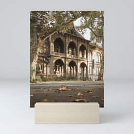 Beautiful architecture in Subotica, Serbia / Fall / Autumn Mini Art Print