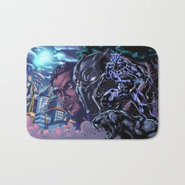 Black Panther: Wakandan Warrior Bath Mat