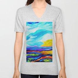 Colorful Journey Unisex V-Neck