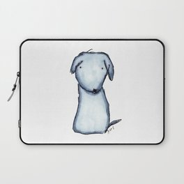 Puppy Blue Laptop Sleeve