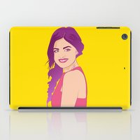 pretty little liars iPad Cases featuring Pretty little liars - Lucy Hale by Lais Design