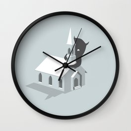 Monster! Wall Clock