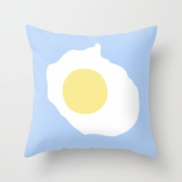 Fried Egg or 煎雞蛋 (Jiān jīdàn), 2014. Throw Pillow