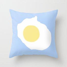 Fried Egg or 煎雞蛋 (Jiān jīdàn), 2014. Throw Pillow