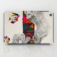 kris tate iPad Cases featuring The Innocent Wilderness by Peter Striffolino and Kris Tate by Peter Striffolino