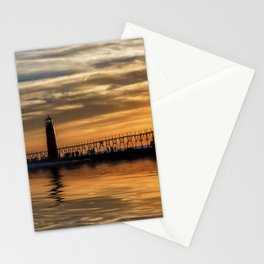 The Pier at Grand Haven Stationery Cards