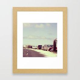 Enero Framed Art Print