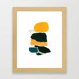 collage studies 18-03 Framed Art Print