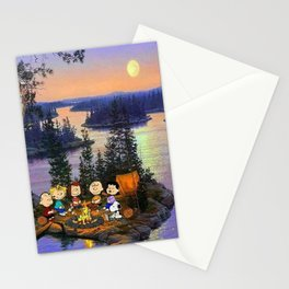 Snoopy and Friend Stationery Cards