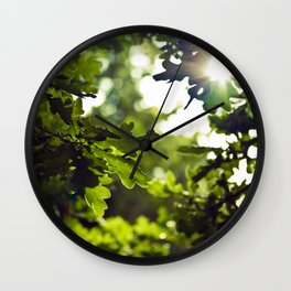 Dreamy forest - Landscape Photography #society6 Wall Clock