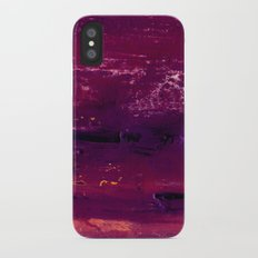 purple atmosphere Slim Case iPhone X