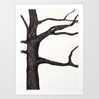 Casa tree Art Print