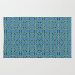 Deep Style Digital Pattern and Butterfly 13 Rug
