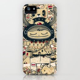 the keeper of the forest iPhone Case