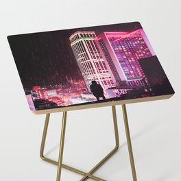 City Hall Rainy Night Side Table