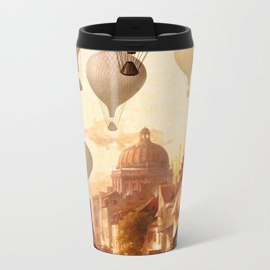 Voyage to the Unkown Metal Travel Mug