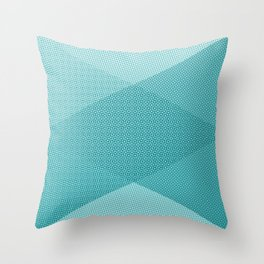 COOL HALFTONE Throw Pillow