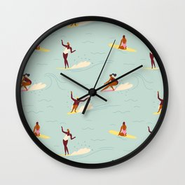 Waikiki beach Wall Clock