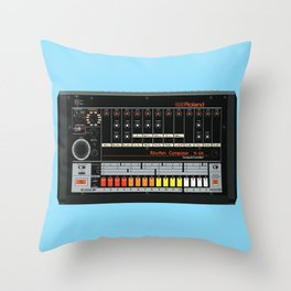 808 Square Throw Pillow