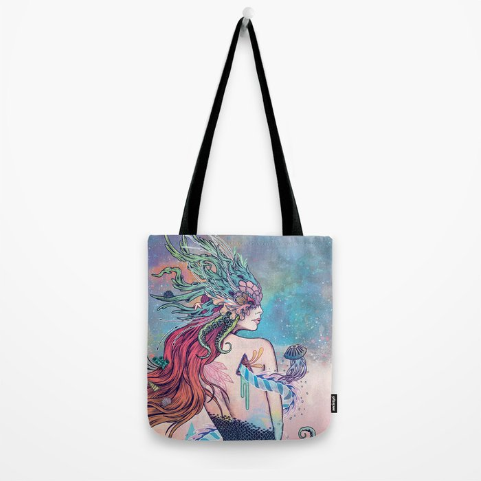 The Last Mermaid Tote Bag