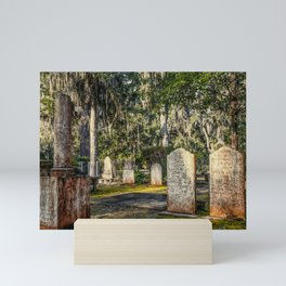 Nineteenth Century Tombstones Mini Art Print